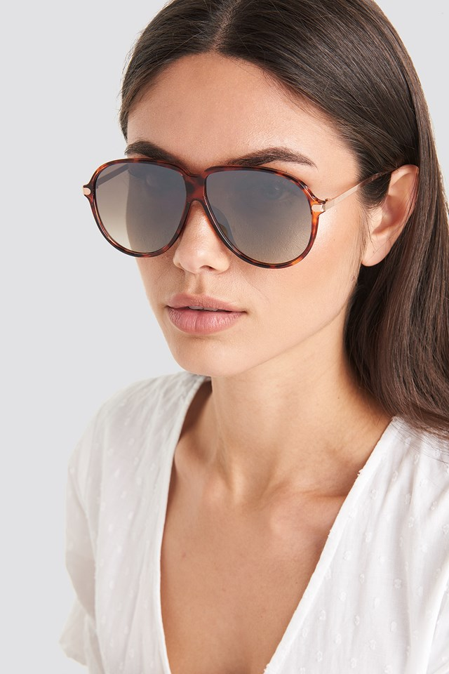 Molly Sunglasses Chocolate