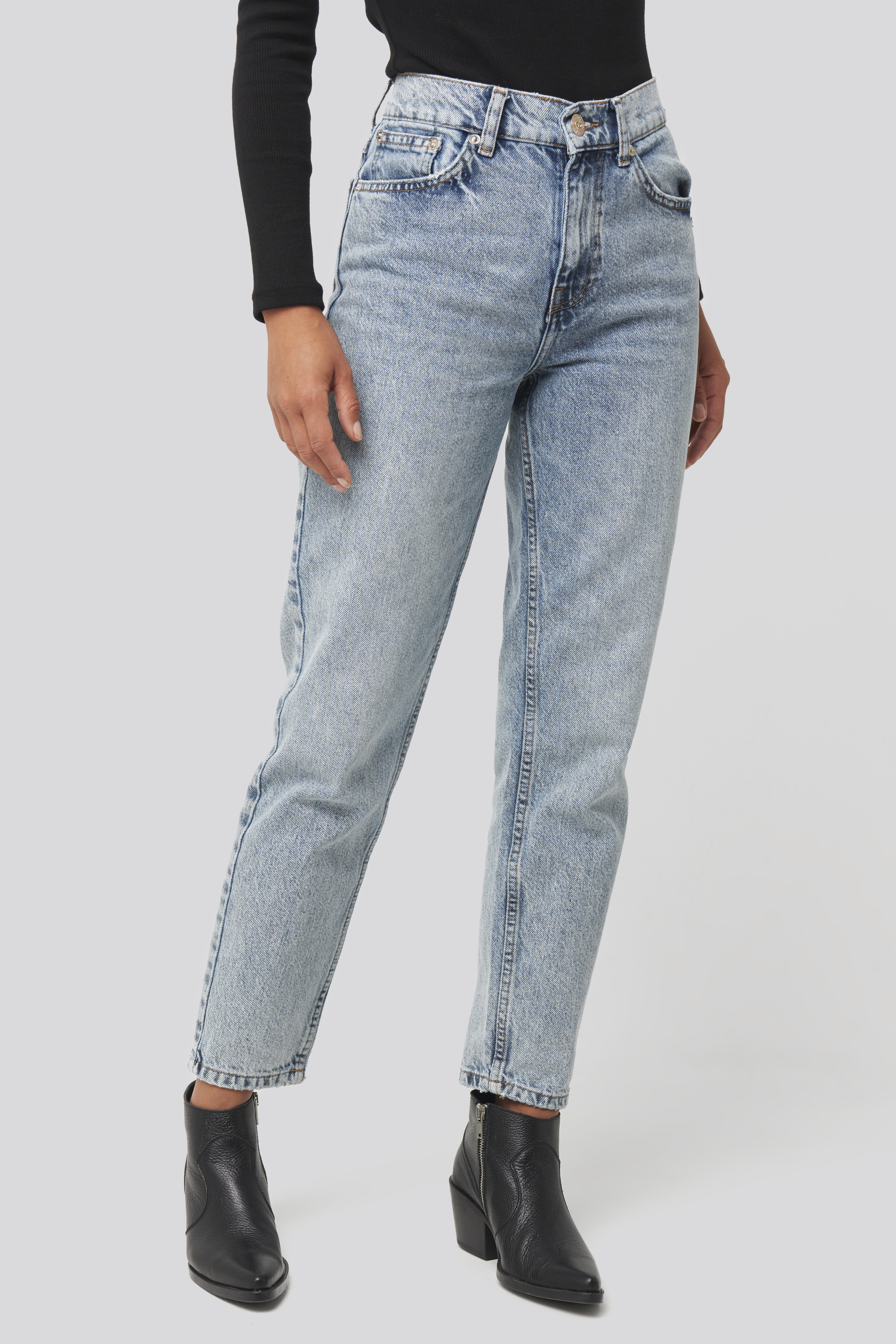 Blue Mom80 Jeans