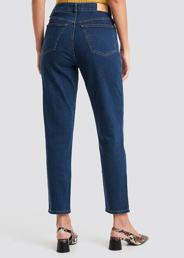 Mom Jeans Dark Wash