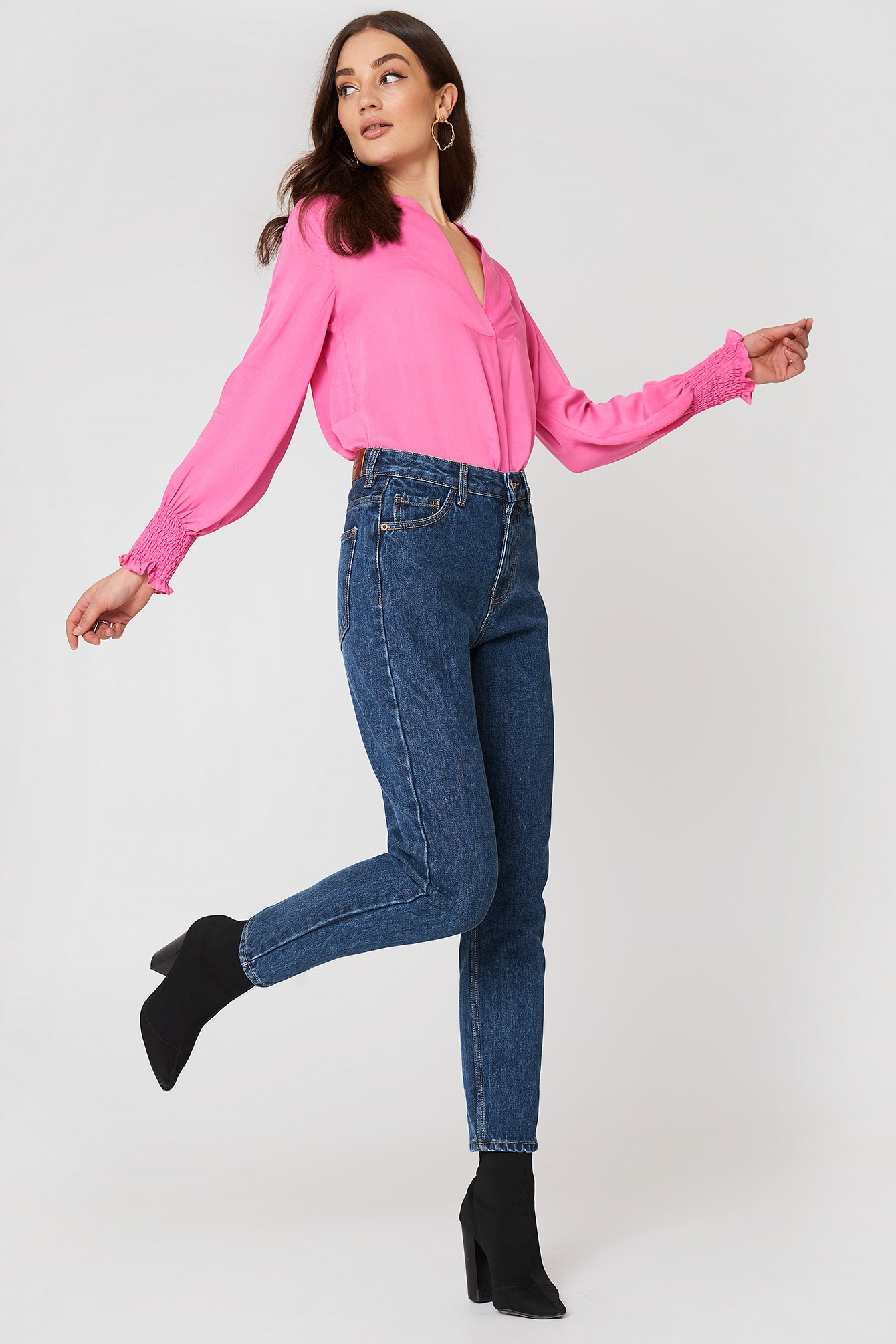 Mom Relaxed Jeans NA-KD.COM