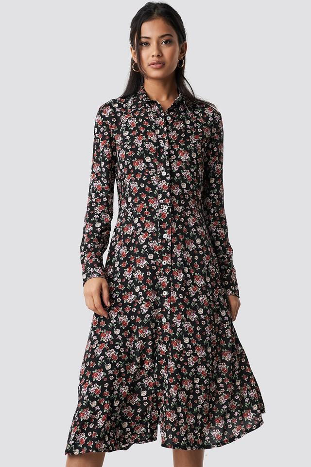 Monu Midi Dress NA-KD.COM