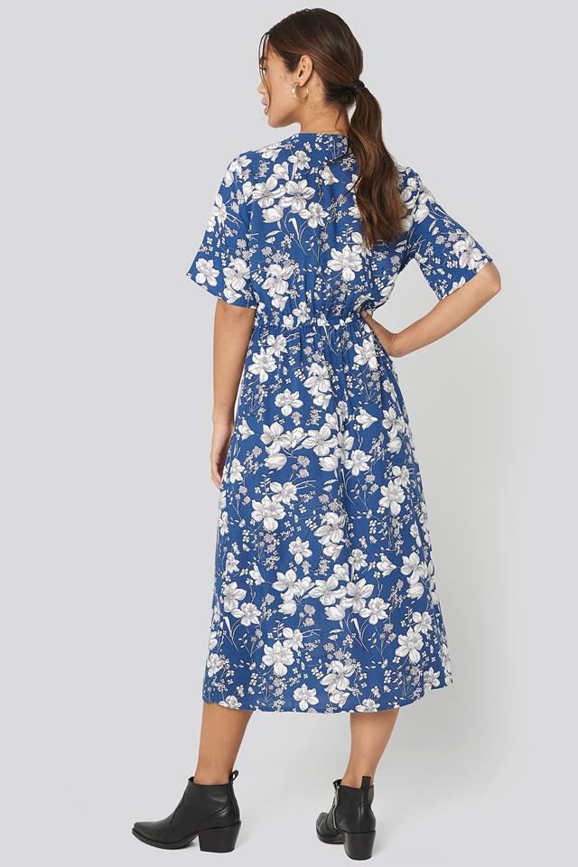 Moon H Dress Blue