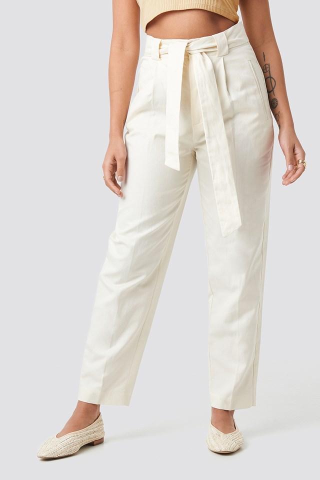 Nando Trousers Beige