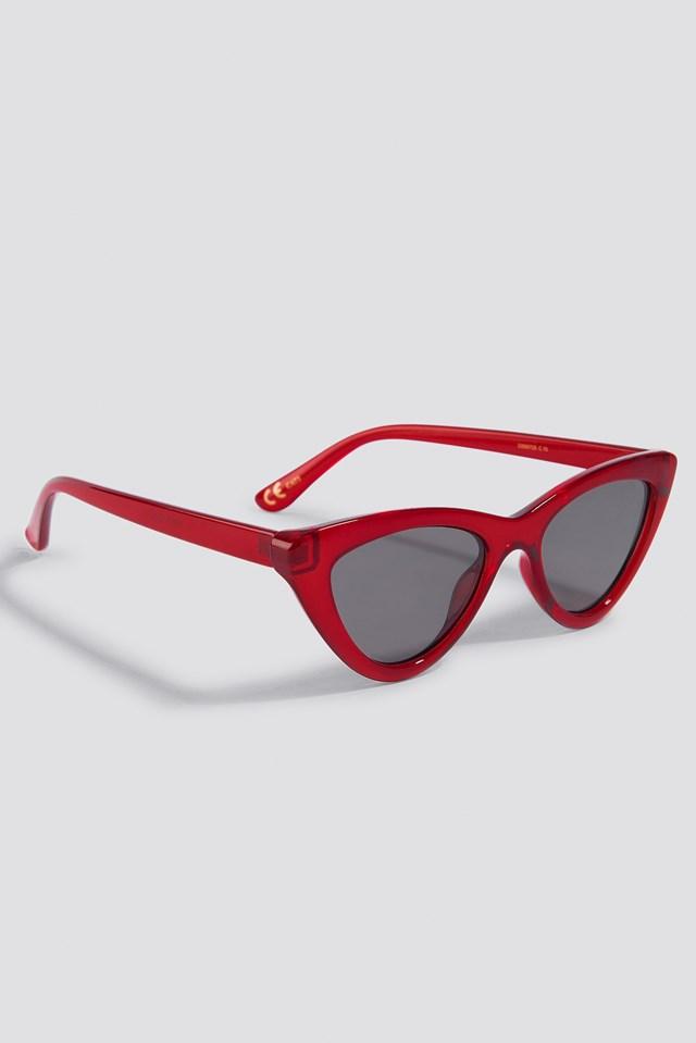 Naomi Sunglasses Red