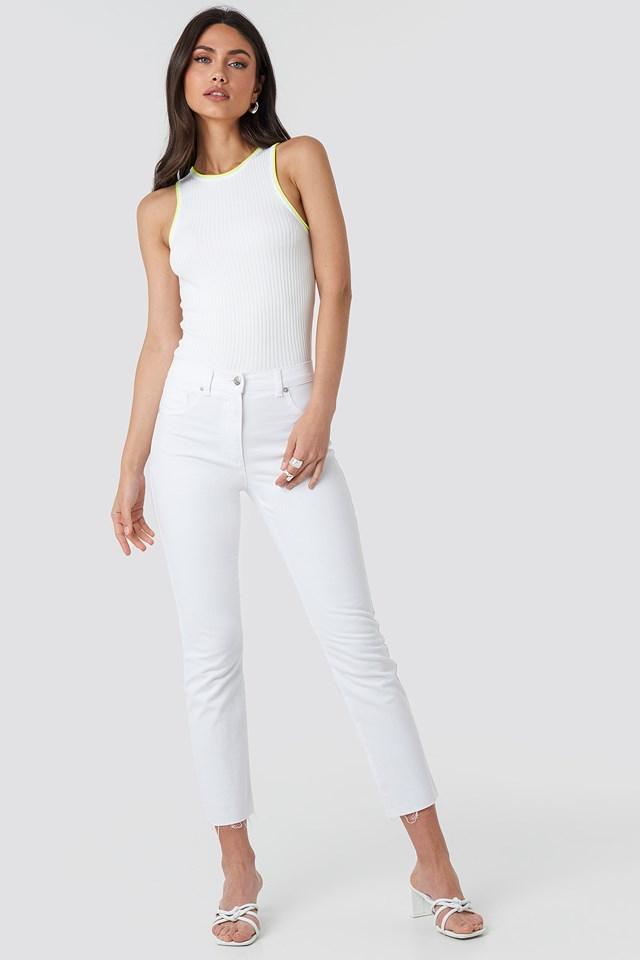 Neonh Top White