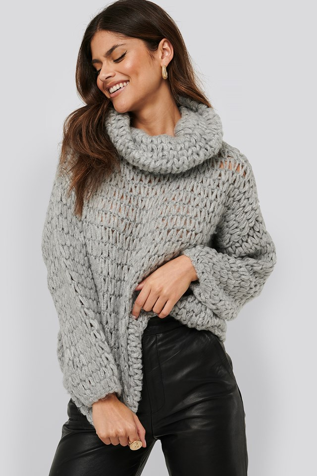 Nest Sweater Light Grey