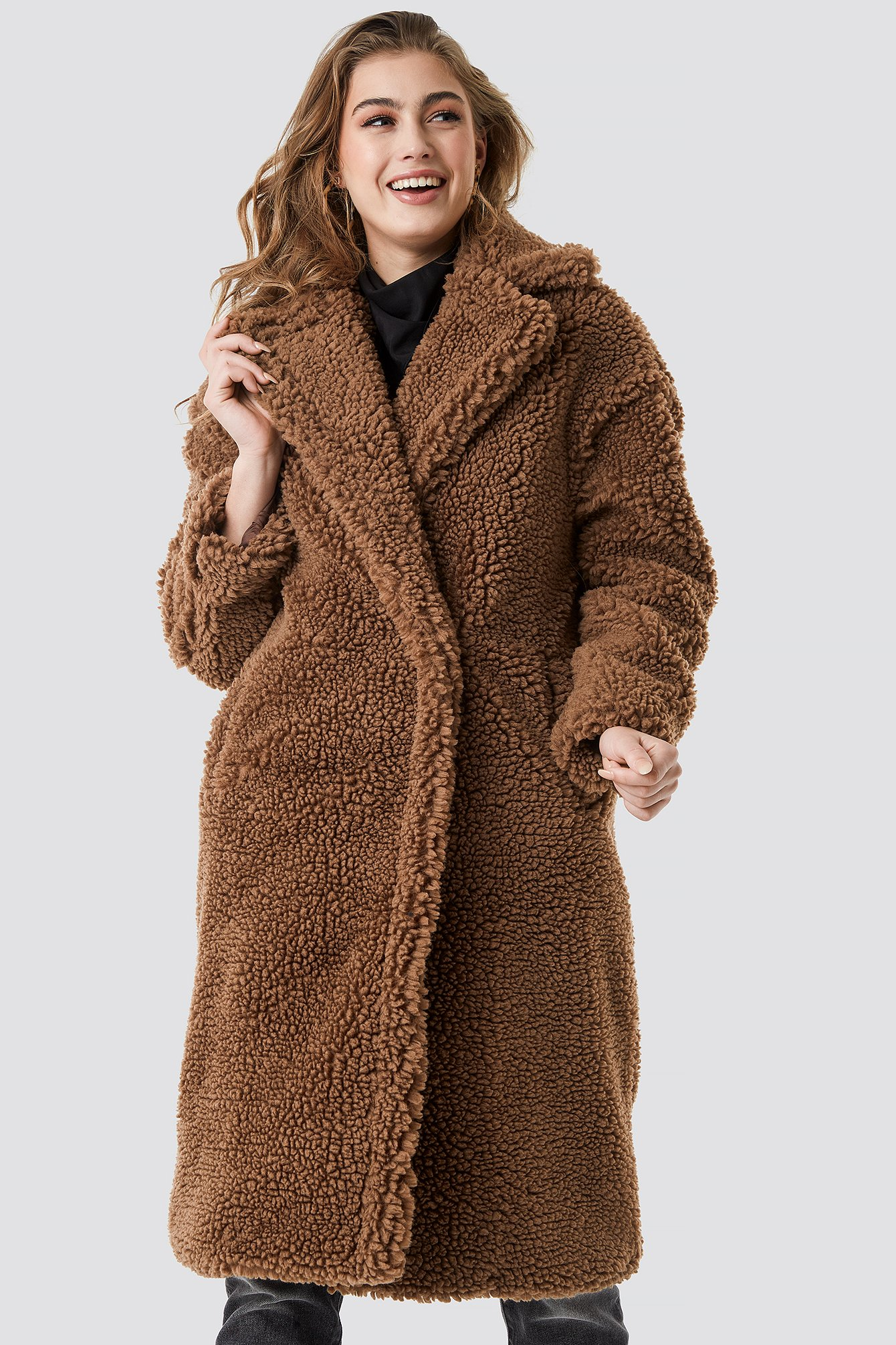 mango -  Newbox Coat - Brown