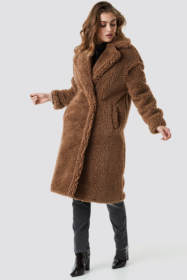 Newbox Coat Dark Brown