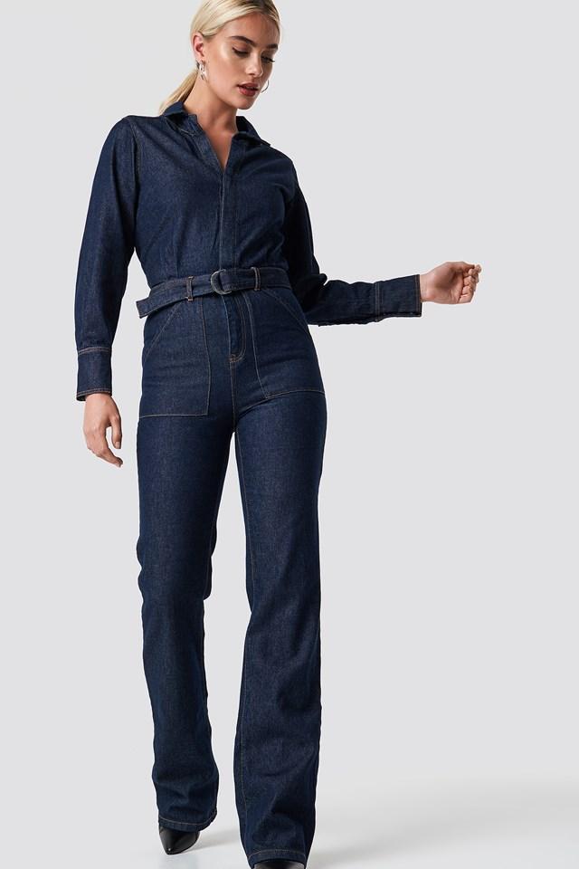 Nomada Jumpsuit Open Blue