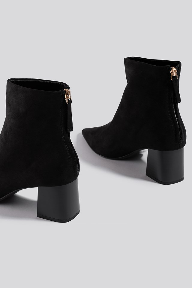 Noon Ankle Boots Black