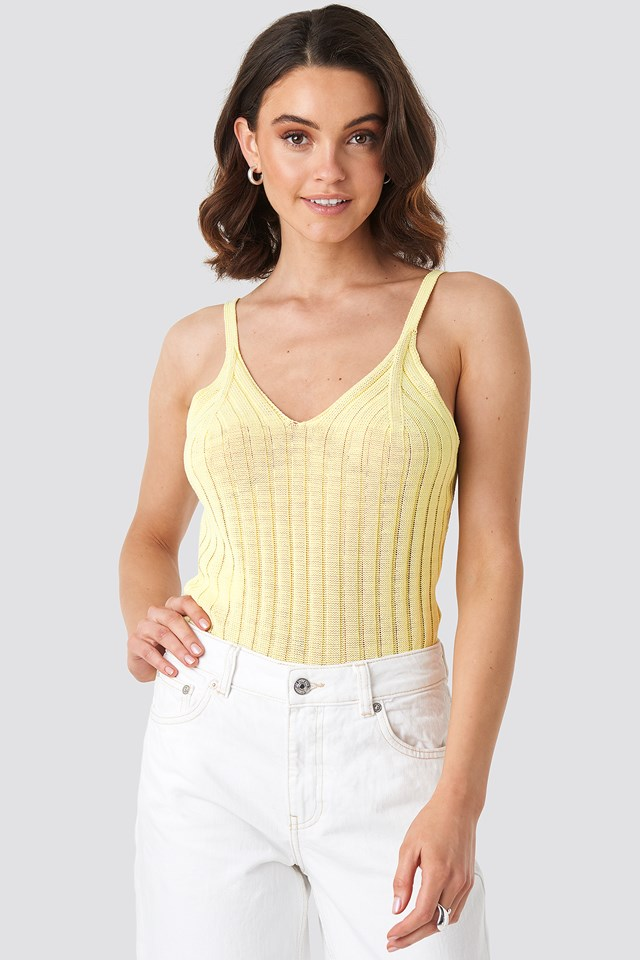 Odisa Top Yellow