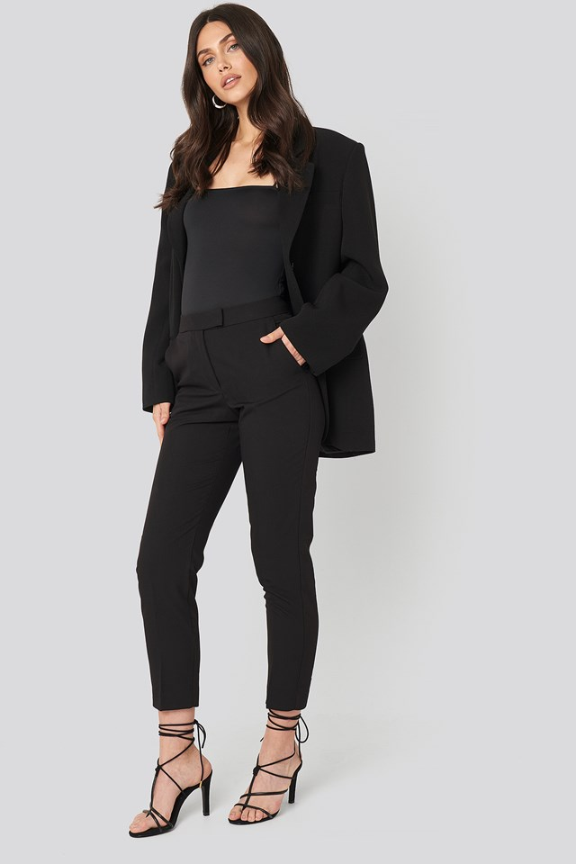 Office Trousers Black