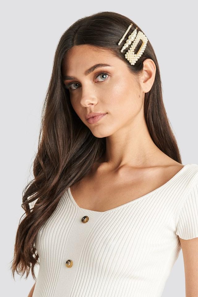 Olimpia Hairclip Pearl