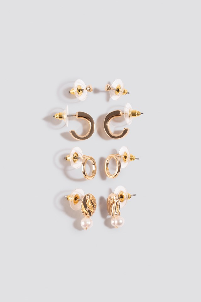 Oline Earrings Gold