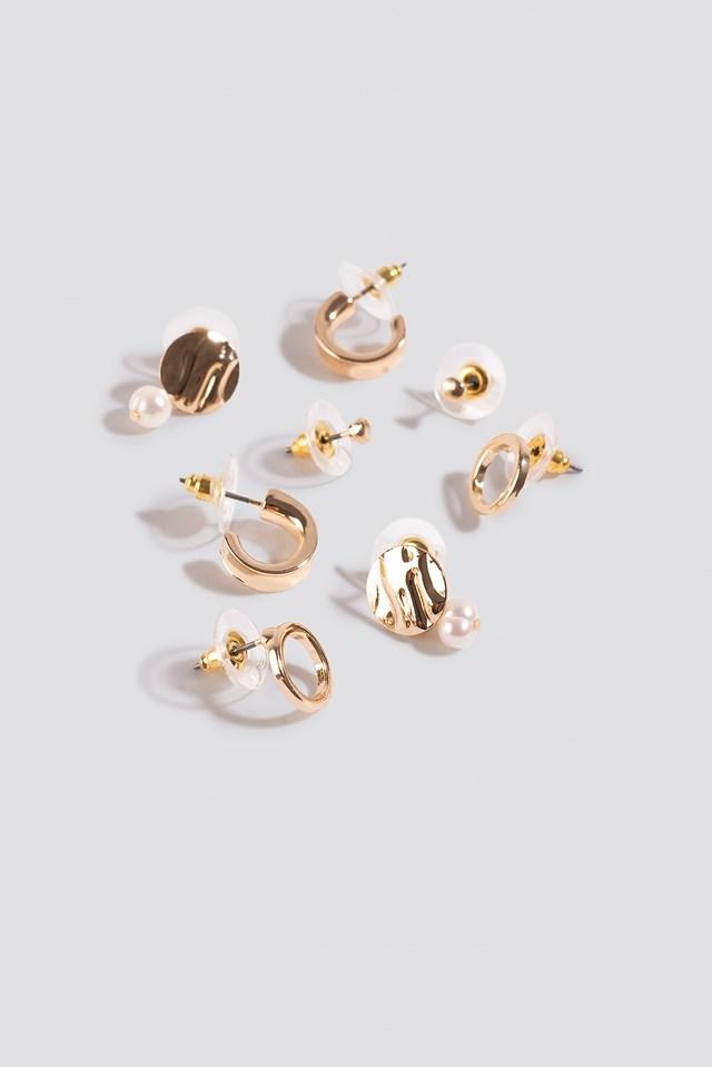 Oline Earrings Gold