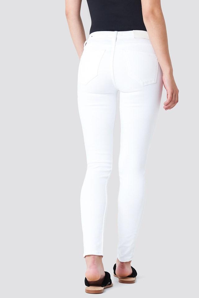 Olivia Skinny Jeans White