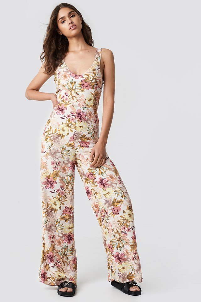 One-Piece Nature Jumpsuit Offwhite