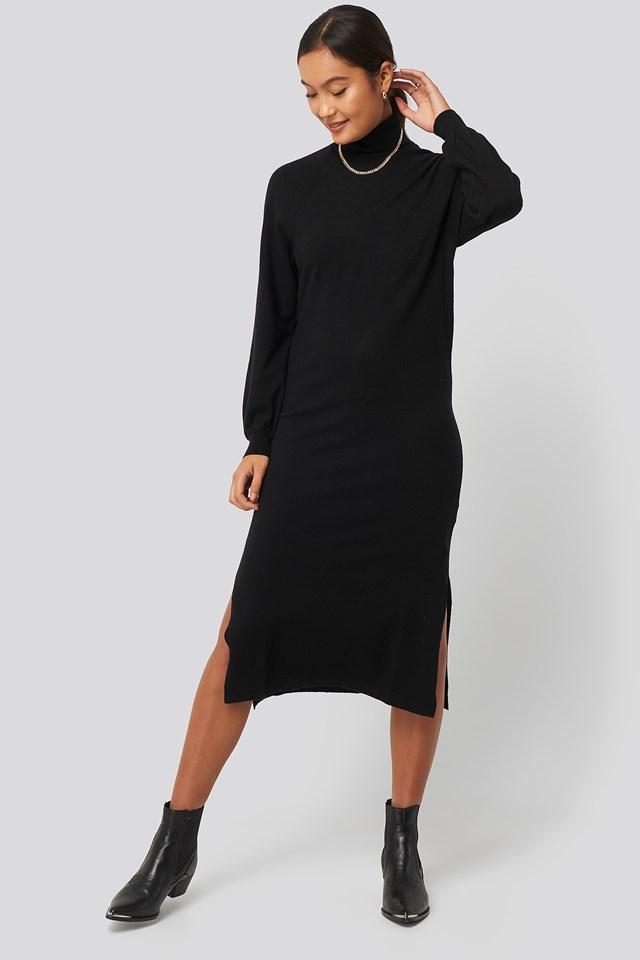 Oolong Dress Black