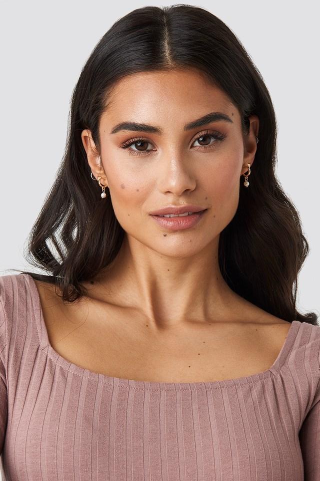Opera Earrings NA-KD.COM