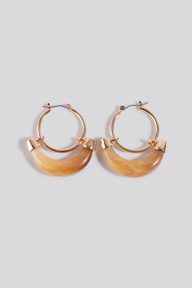 Orleans Earrings Gold