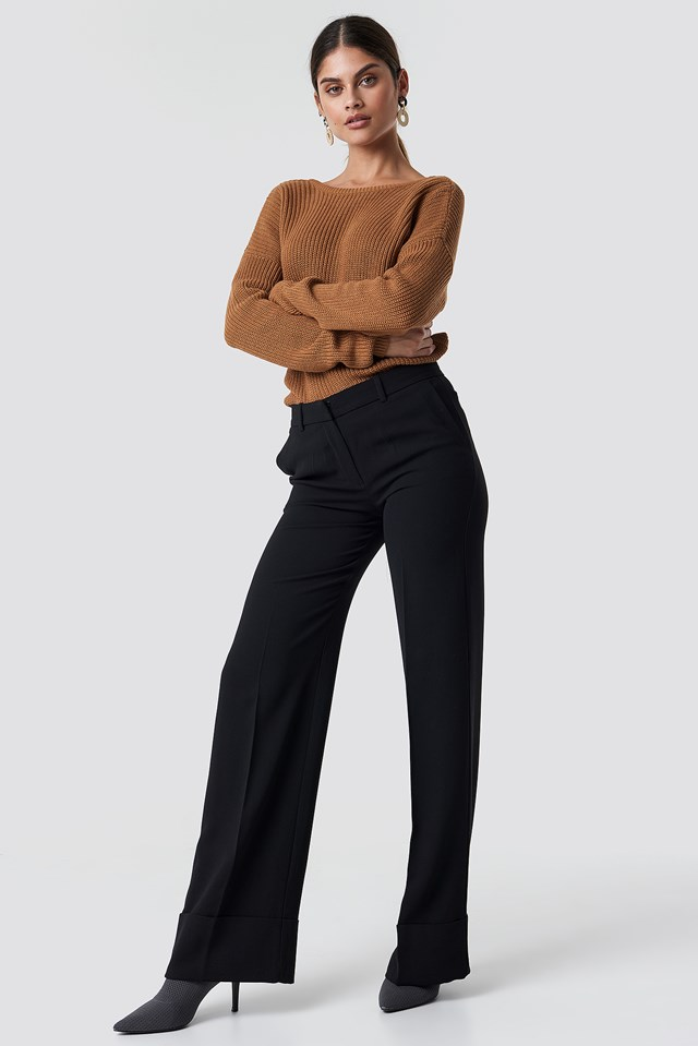 Osuna Trousers Black