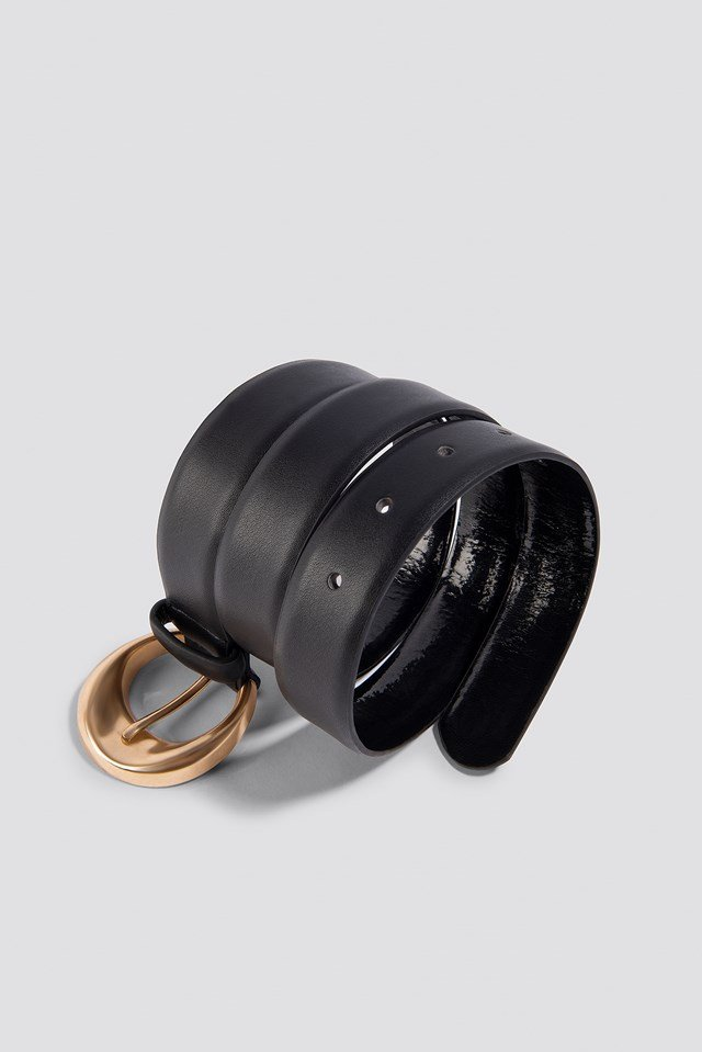 Oval Belt Black