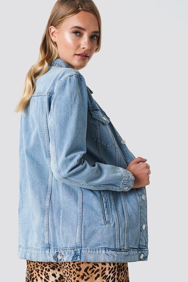 Oversize Denim Jacket NA-KD.COM