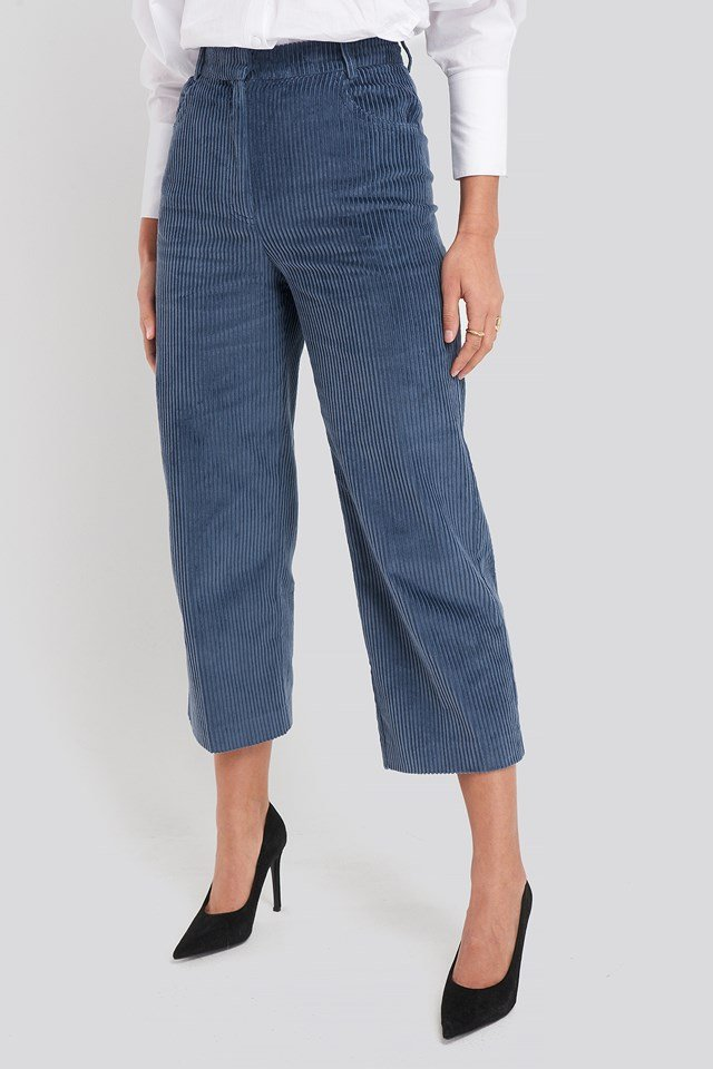 Pan Trousers Medium Blue