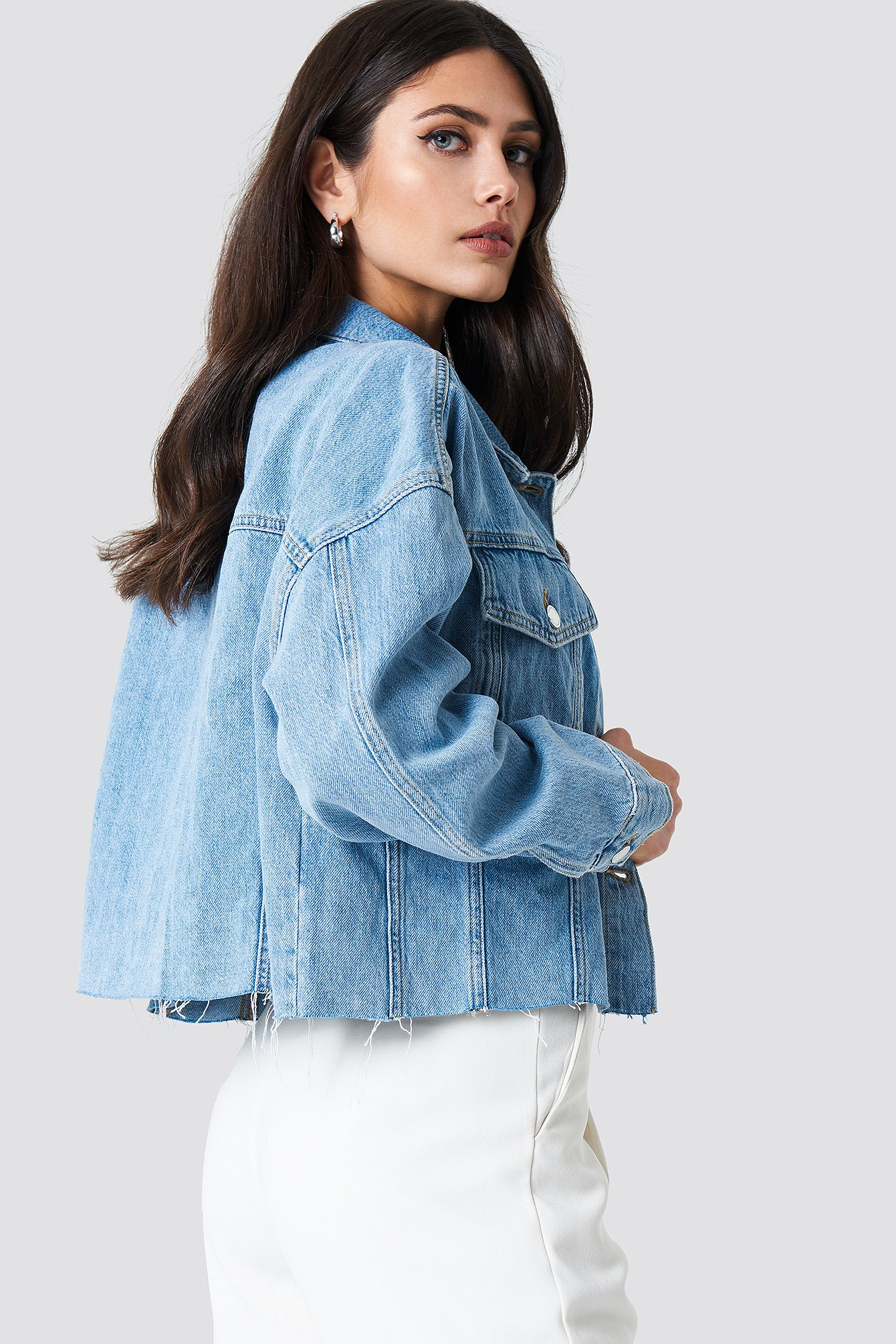 Open Blue Parisian Jacket