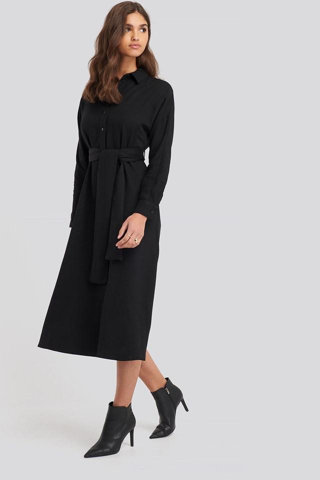 Peonia5 Dress Black