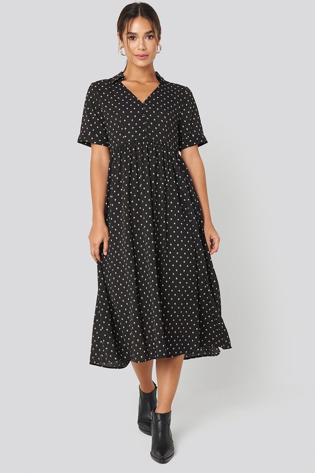 Phoebe H Dress Black