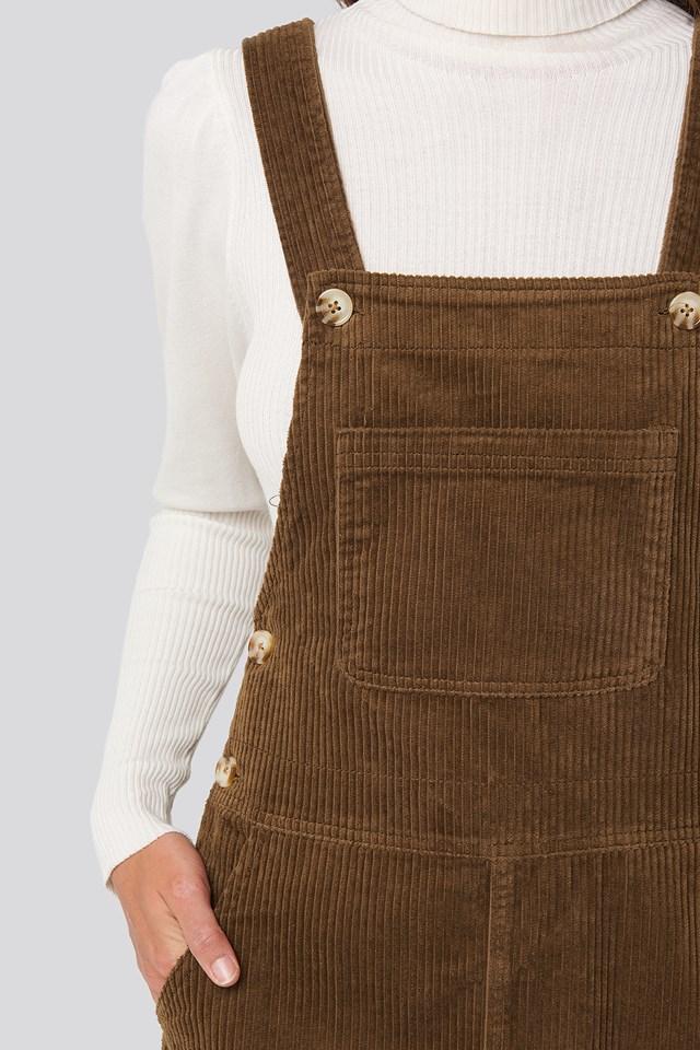 Pichipan Dress Chocolate