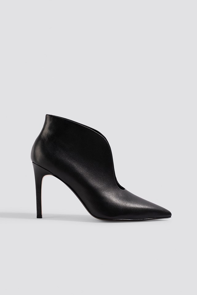 Pico Leather Boots Black