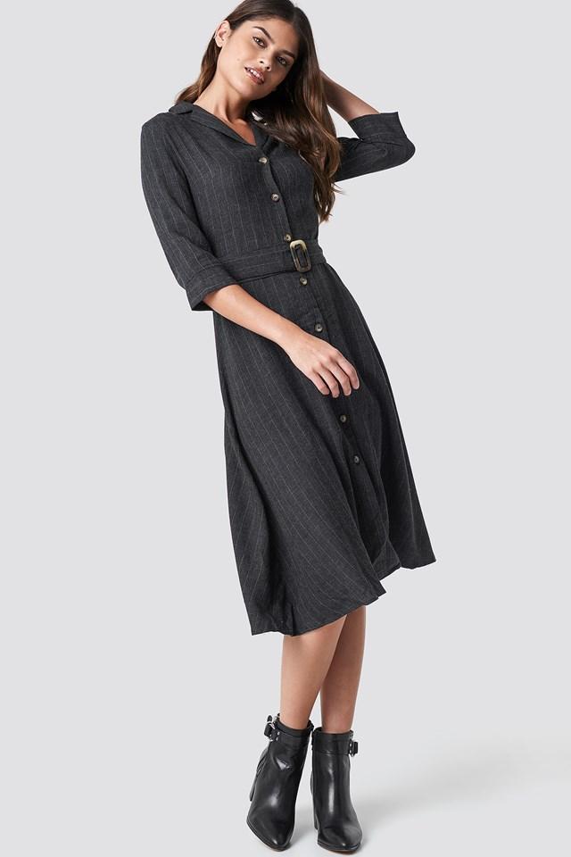 Pin Midi Dress MANGO