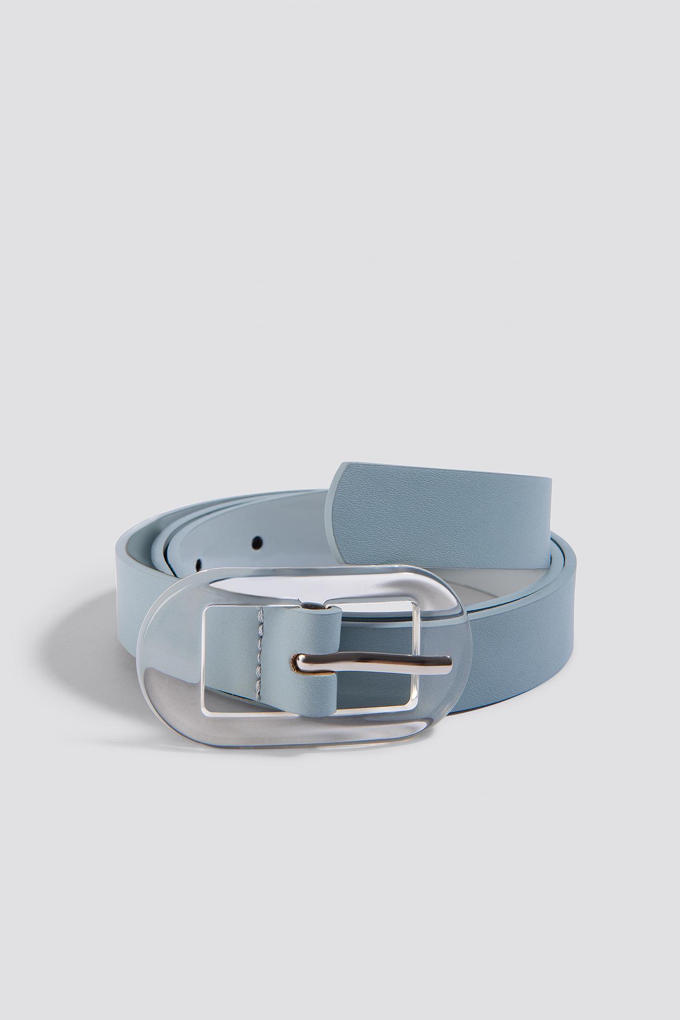 mango -  Plastic Belt - Blue