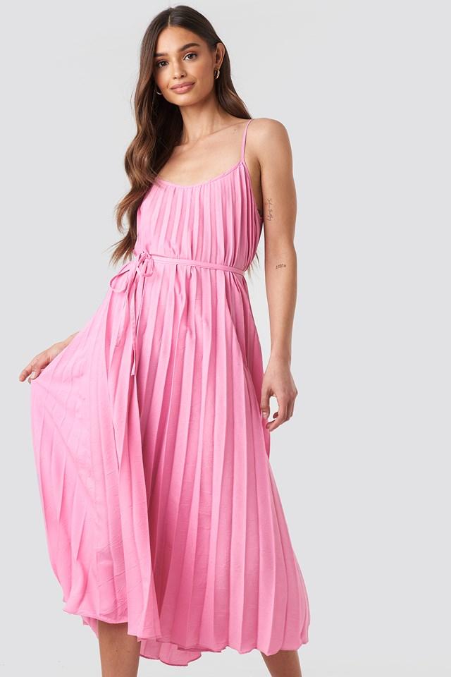 Plisado Dress Pink