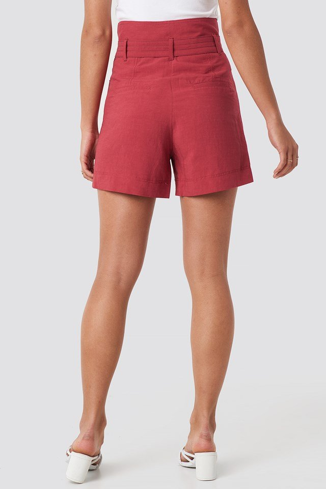 Pocket Shorts Red