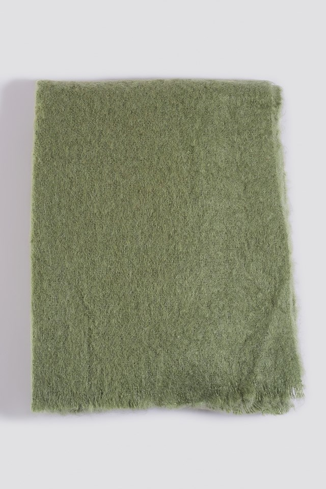 Quality Scarf Bright Green