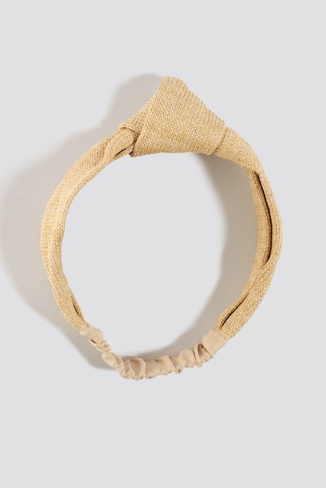 Rafia Hairband NA-KD.COM