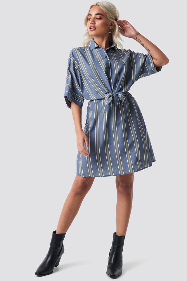 Rafiki Dress Medium Wash