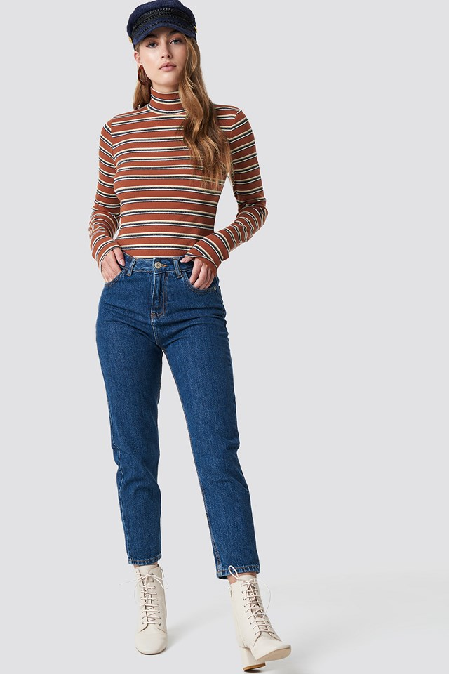 Relaxed Mom Jeans MANGO