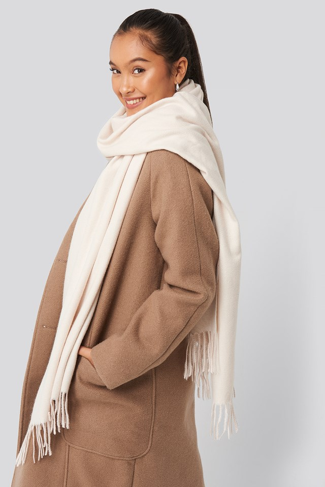 Resweet Scarf Offwhite