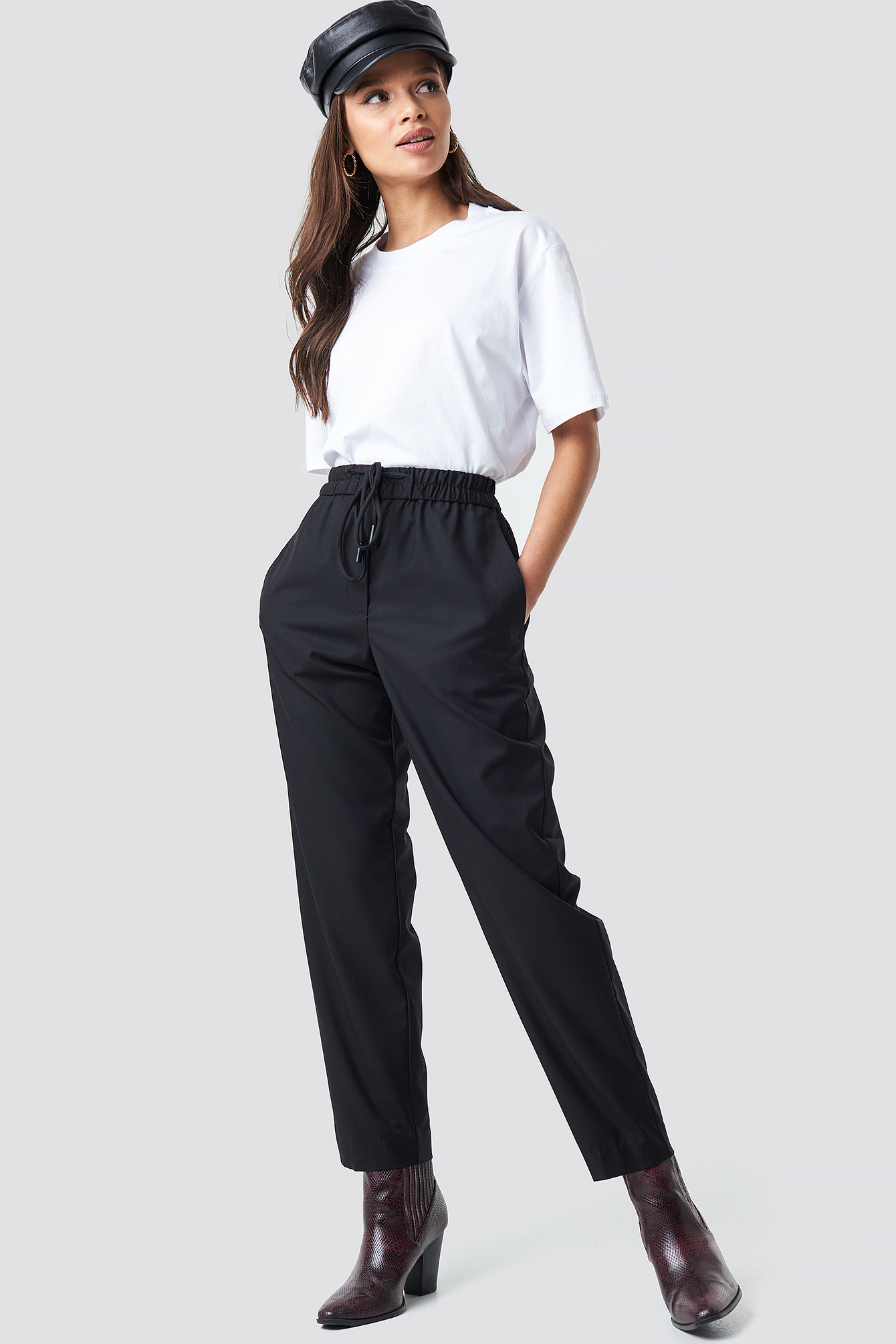 mango -  Ricardo Trousers - Black