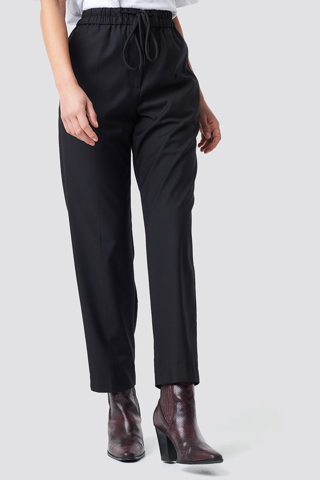 Ricardo Trousers Black