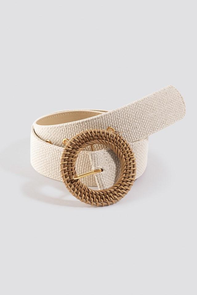 Round Belt Cream