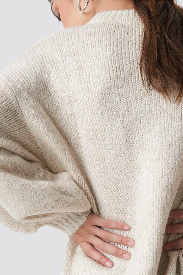 Saudade Sweater Ecru