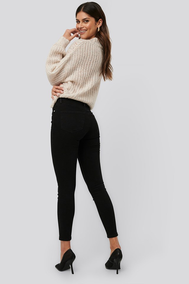 Sculpt Jeans Black Denim