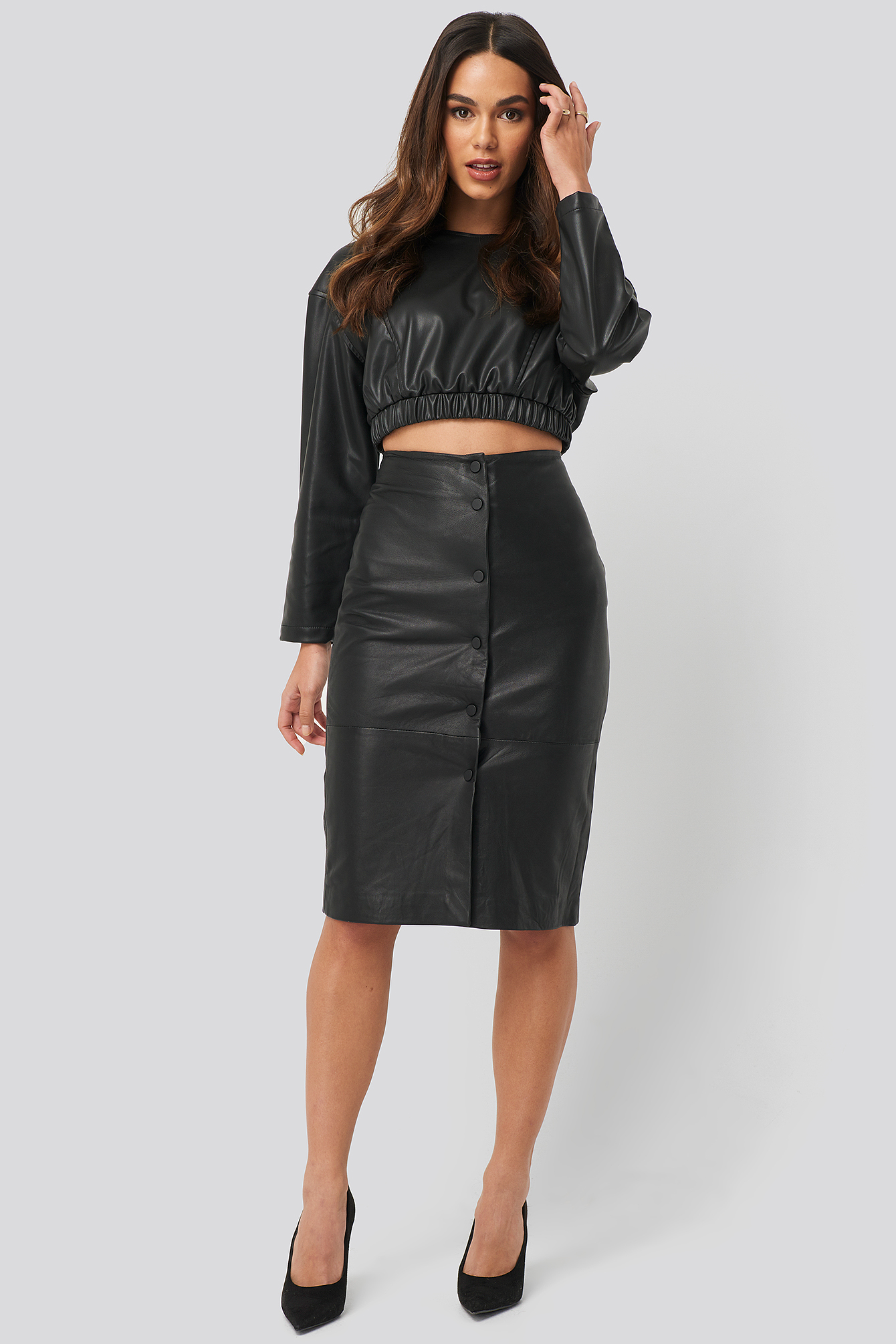 mango -  Silvia Skirt - Black