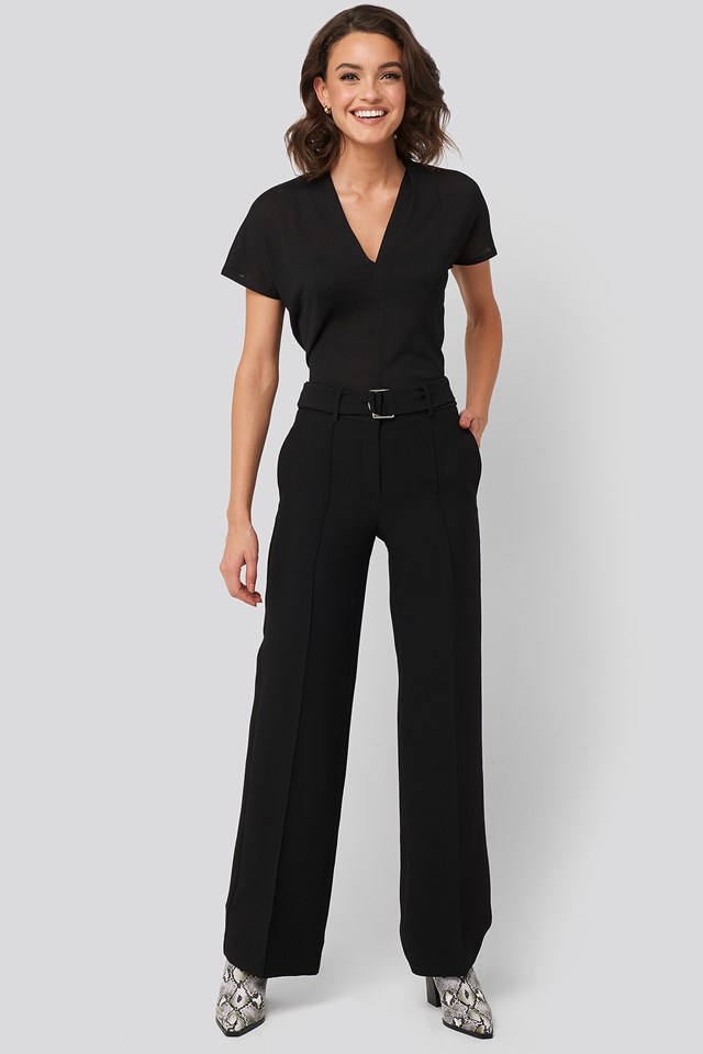 Simone Trousers Black