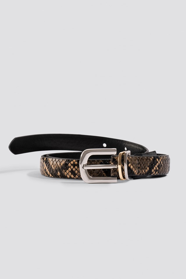 Snake Belt Khaki